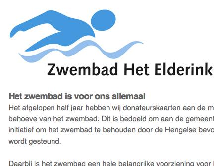 """Vandaag is de mail """"Uw donateurskaart"""" verzonden"""