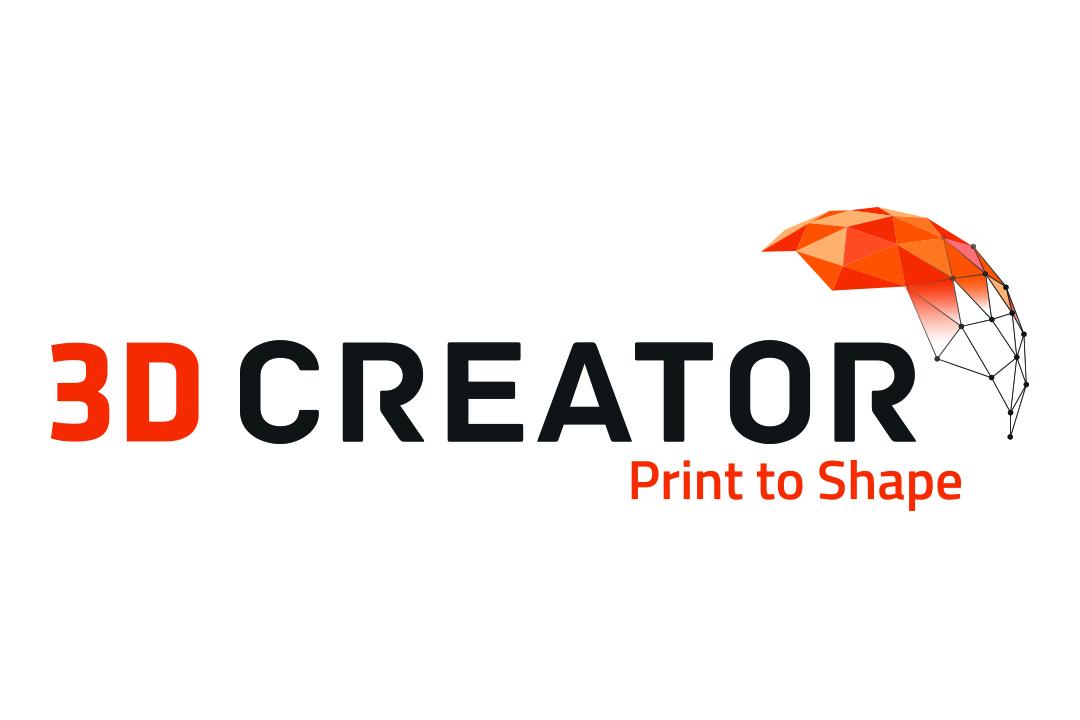 Logo 3D Creator white