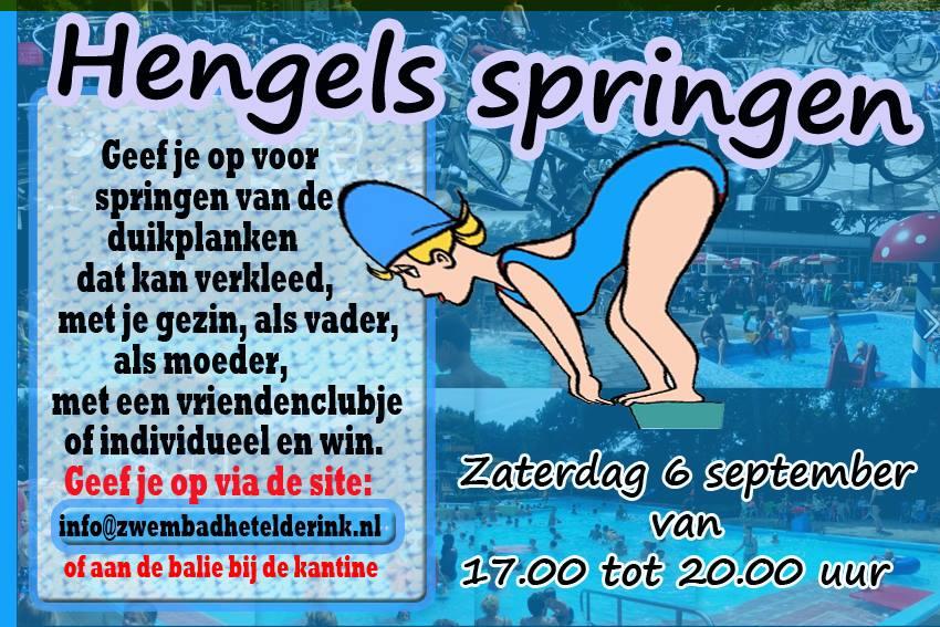 Hengels Springen op zaterdag 6 september