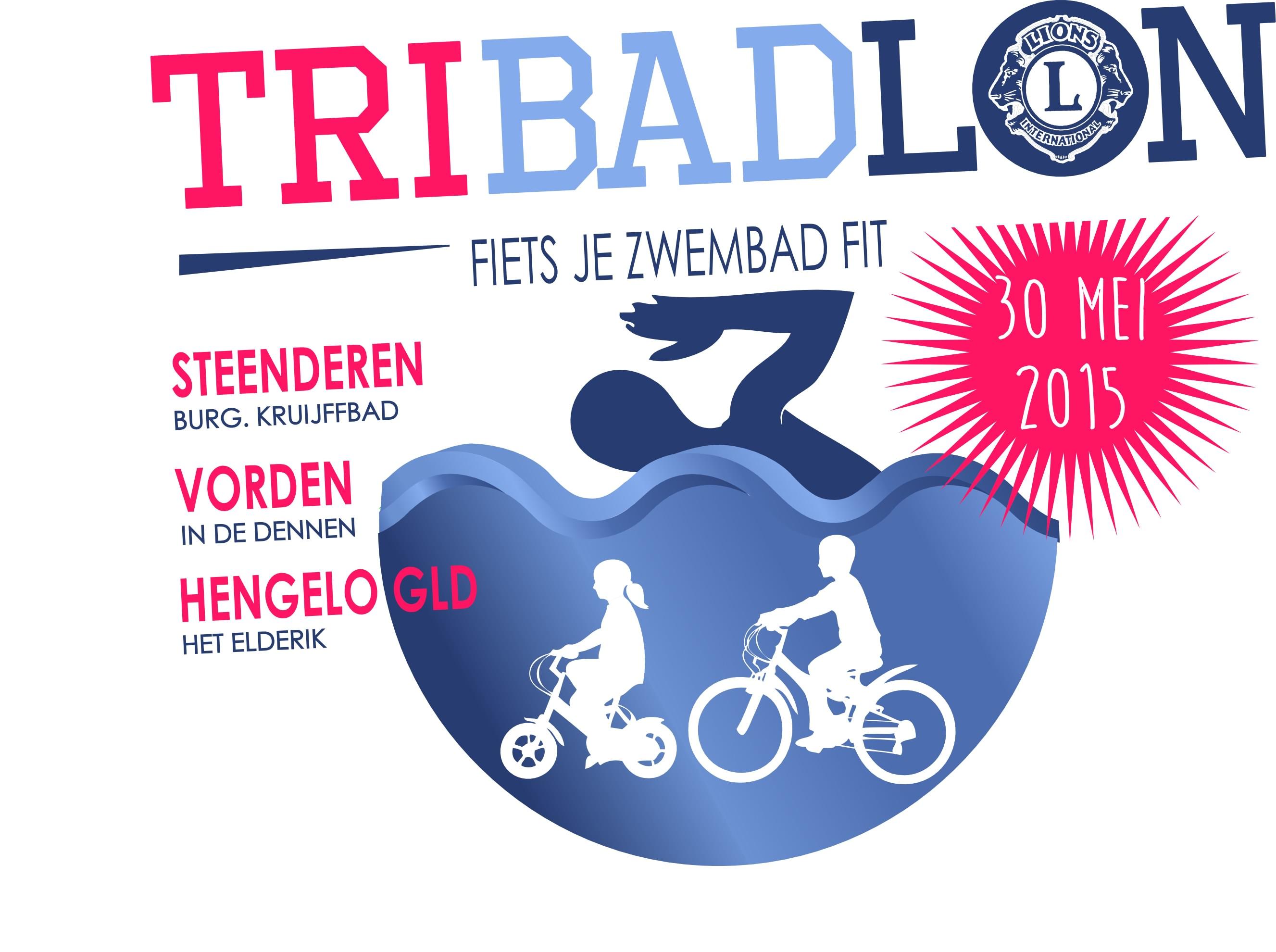 Fiets je zwembad fit op zaterdag 30 mei! – Tribadlon